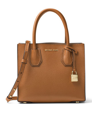 MICHAEL Michael Kors Mercer Medium Double-Sided Leather Tote