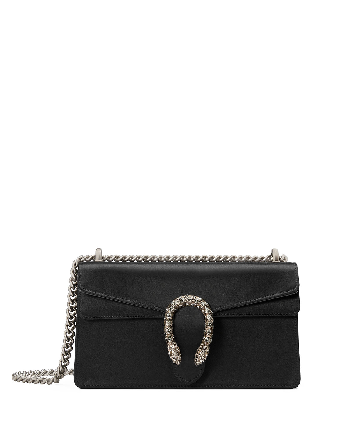 c9dfcb363747 Gucci Dionysus Small Satin Shoulder Bag | Neiman Marcus
