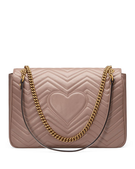 5d4ecd852 Image 3 of 4: Gucci GG Marmont Large Chevron Quilted Leather Shoulder Bag