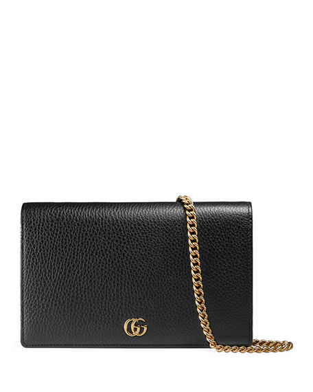 Image 1 of 3: Gucci GG Marmont Wallet on a Chain