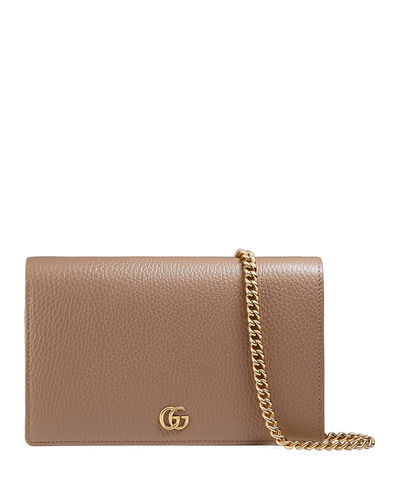 aee745f670a Gucci Petite Marmont Wallet on a Chain from Neiman Marcus - Styhunt