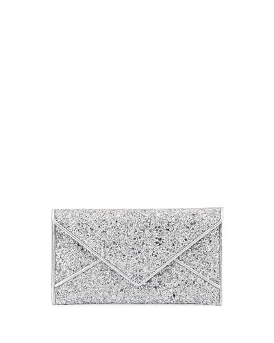 Glitter Envelope Continental Wallet