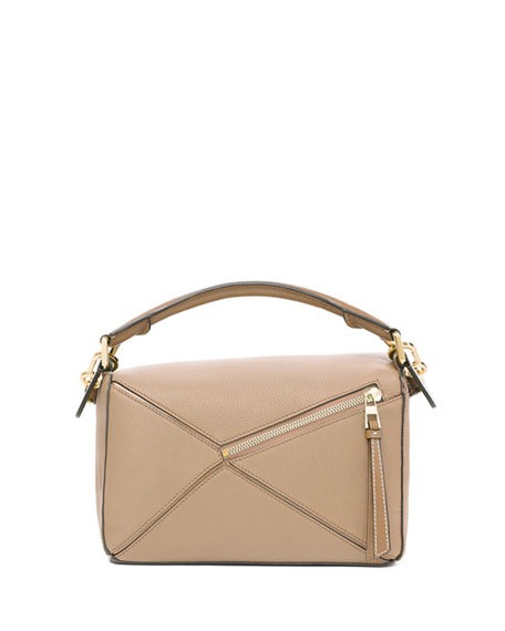 Image 2 of 5: Loewe Puzzle Small Leather Satchel Bag