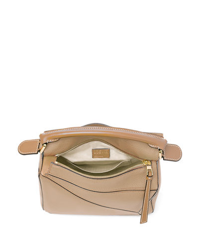 Puzzle Small Leather Satchel Bag