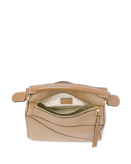 Image 3 of 5: Loewe Puzzle Small Leather Satchel Bag