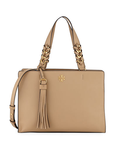 Brooke Smooth Leather Satchel Bag
