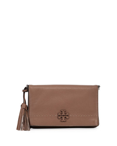 McGraw Fold-Over Crossbody Bag
