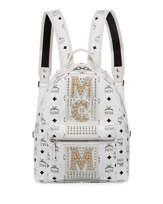 Small Dual Stark Embellished Backpack