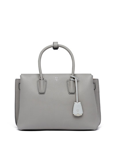 Milla Pebbled Leather Tote Bag