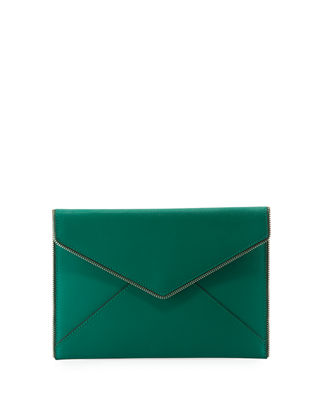 Rebecca Minkoff Leo Saffiano Envelope Clutch Bag