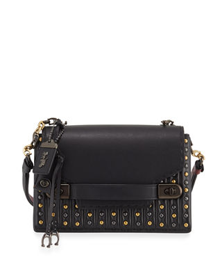 Coach 1941 Swagger Quilted Crossbody Bag with Rivets
