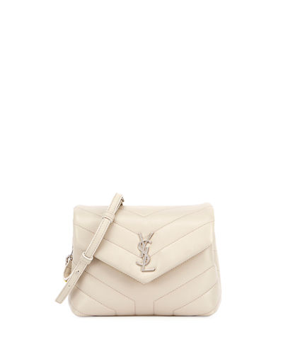 Loulou Monogram XS Calf Leather Crossbody Bag