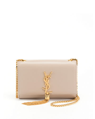 Kate Monogram YSL Small Tassel Shoulder Bag with Golden Hardware
