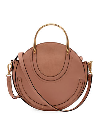 Chloe Pixie Medium Round Shoulder Bag