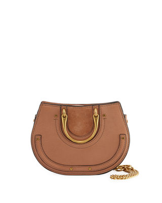 Chloe Pixie Mini Round Shoulder Bag