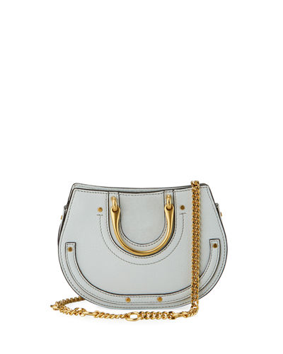 Pixie Mini Round Shoulder Bag