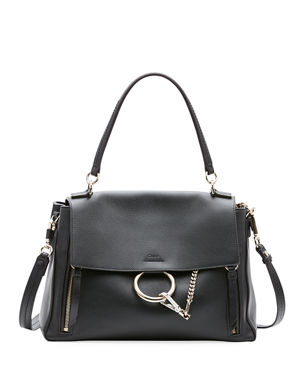 Chloe Faye Day Small Pebbled Ring Shoulder Bag 73cb6d7f8