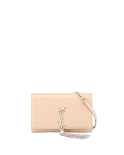 Kate Monogram YSL Tassel Wallet on a Chain