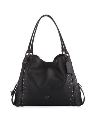 Edie 31 Prairie Rivet-Detail Shoulder Bag