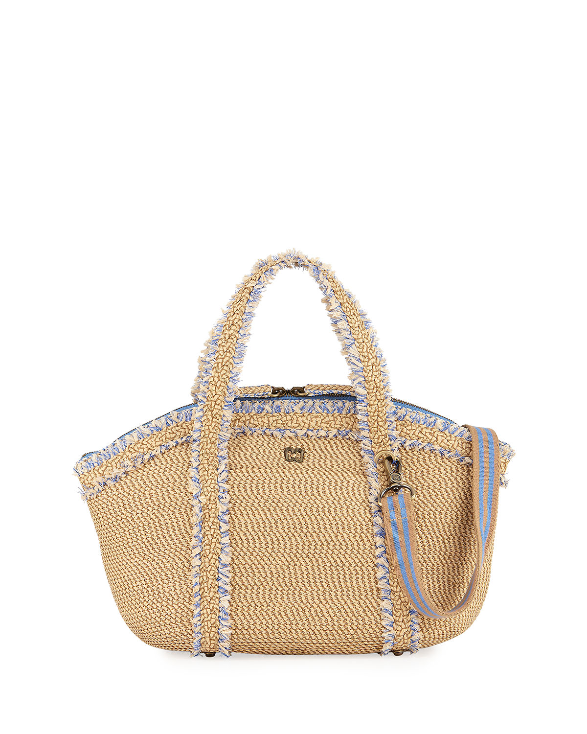Squishee Covet Fringed Tote Bag