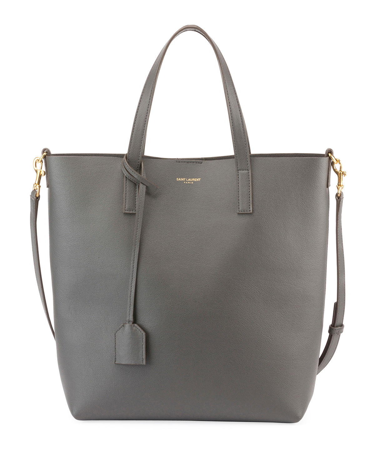 Toy Leather Tote Bag with Shoulder Strap