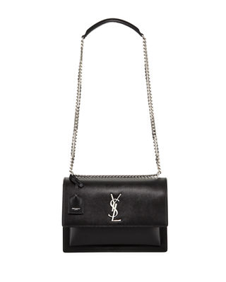 Saint Laurent Sunset Large Monogram YSL Crossbody Bag