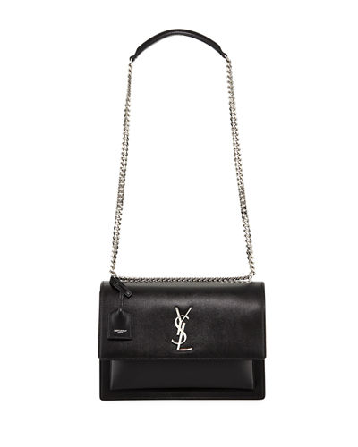 Sunset Large Monogram YSL Shoulder Bag