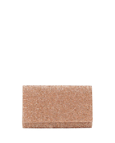 Judith Leiber Couture Crystal-Embellished Crossbody