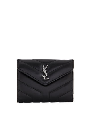 Image 1 of 3: Lou Lou Small V-Flap Wallet