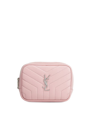 Saint Laurent Loulou Monogram YSL Square Quilted Leather