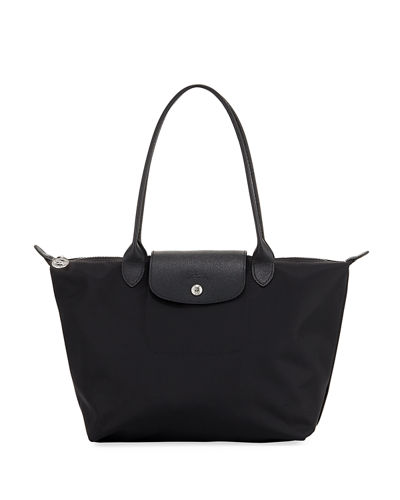 Le Pliage Neo Medium Nylon Shoulder Tote Bag