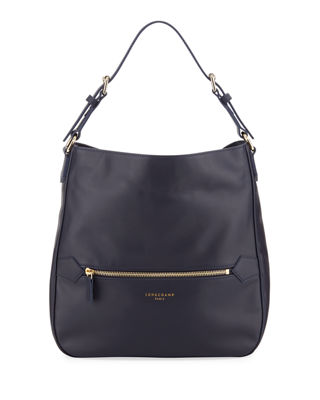 Longchamp 2.0 Smooth Leather Hobo Bag