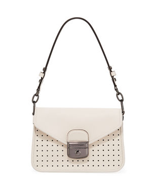 Longchamp Mademoiselle Longchamp Small Crossbody in Natural 7c9e1304a51fa