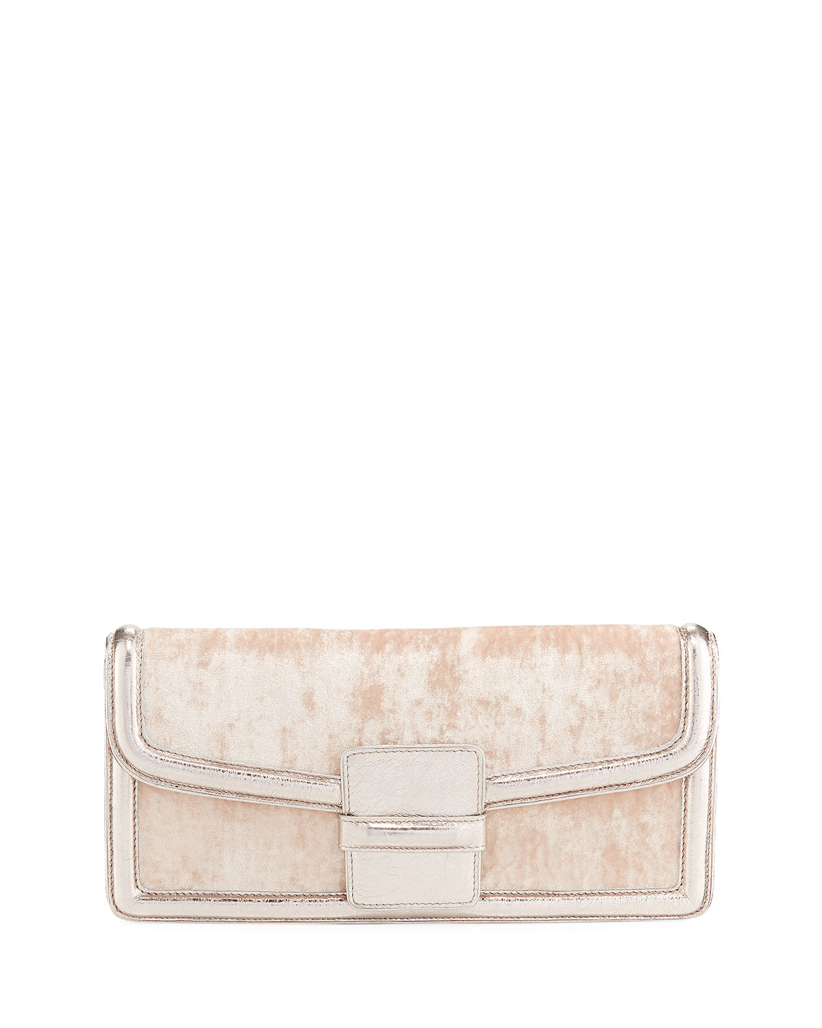Velvet Envelope Clutch Bag