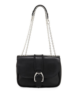 Longchamp Amazone Leather Shoulder Bag