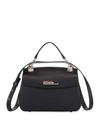 Madeleine Leather Crossbody Bag