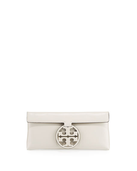 Tory Burch Miller Medallion Clutch Bag