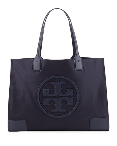 Ella Nylon Snap Tote Bag