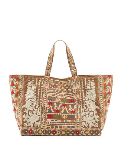 Allya Cotton Canvas Tote Bag