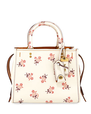 Coach 1941 Rogue 25 Floral Bow Shoulder Bag