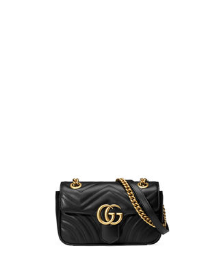 Gucci GG Marmont 2.0 Mini Matelassé Shoulder Bag