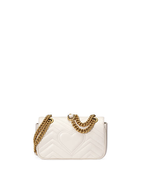 Image 3 of 4: Gucci GG Marmont 2.0 Mini Matelasse Shoulder Bag