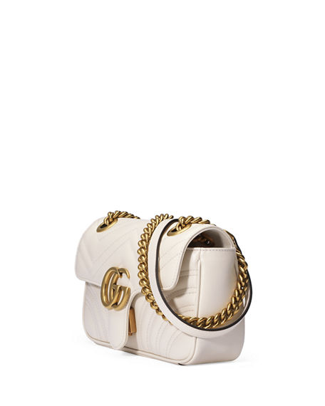 Image 4 of 4: Gucci GG Marmont 2.0 Mini Matelasse Shoulder Bag