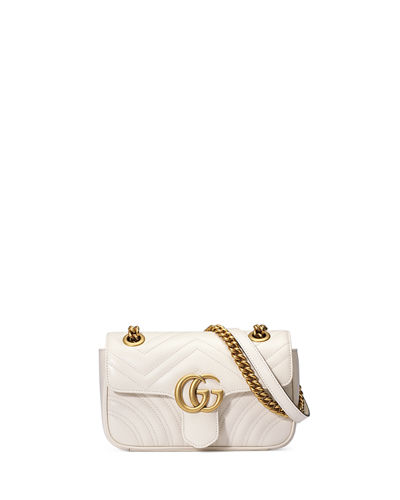 GG Marmont 2.0 Mini Matelasse Shoulder Bag