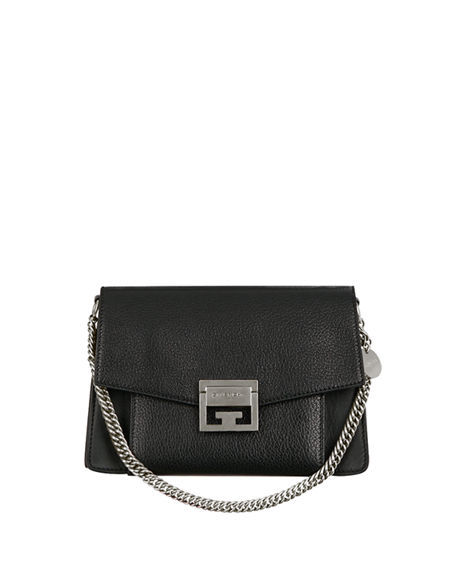 0f56dcc2596c Givenchy GV3 Small Pebbled Leather Crossbody Bag | Neiman Marcus