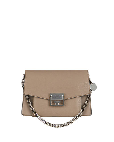 GV3 Small Pebbled Crossbody Bag