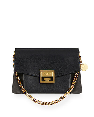 GV3 Small Pebbled Leather Crossbody Bag