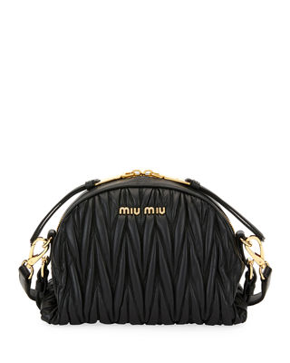 Miu Miu My Miu Matelass?? Small Crossbody Bag