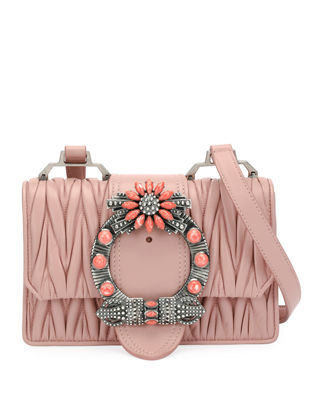 Miu Miu Miu Lady Matelass?? Medium Shoulder Bag