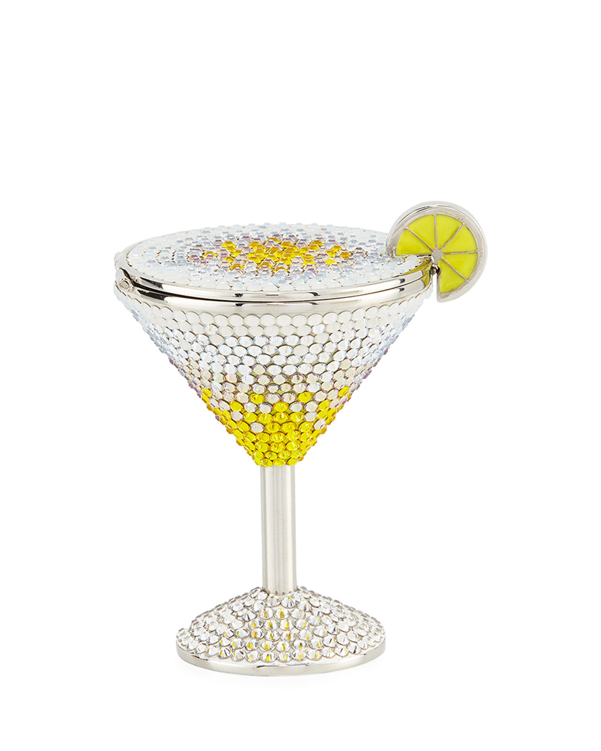 Crystal Martini Pillbox